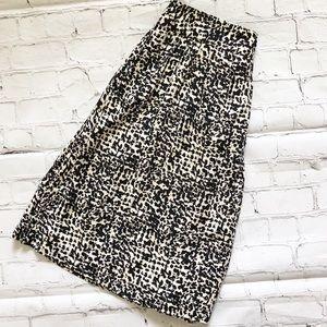 New York & Company Animal Print Skirt